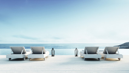 luxe tuin loungebank